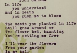 Most Famous Poems About Flowers And Gardens Pic392