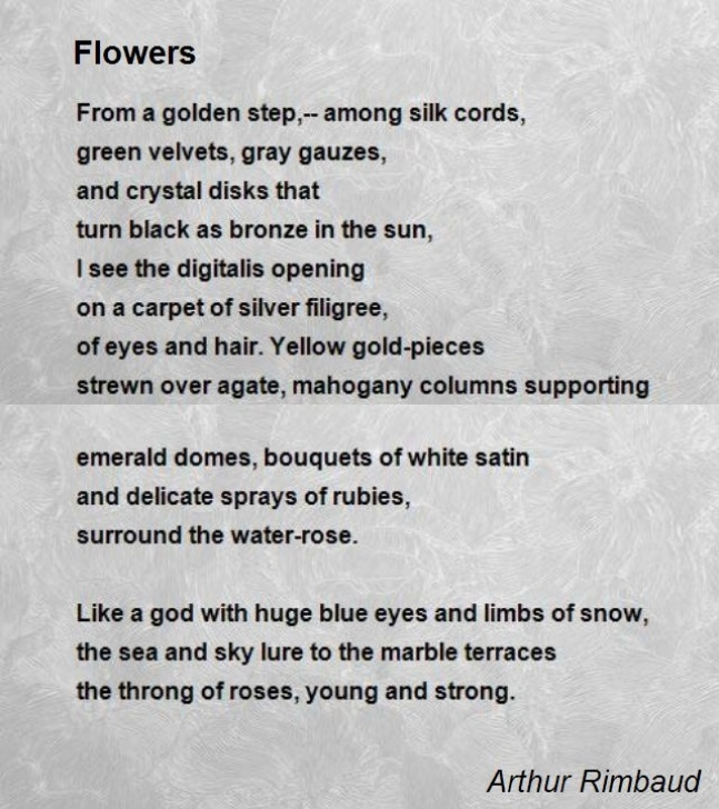Most Famous Rose Flower Poem In English Photo130