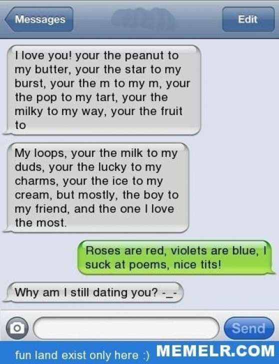 Most Famous Roses Are Red Violets Are Blue Rude Poems Image455