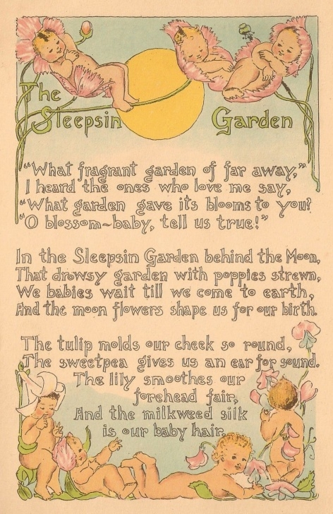 Most Iconic Children'S Garden Poems Pic861