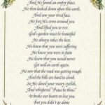 Most Iconic God'S Garden Funeral Poem Picture821