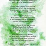 Most Iconic Life Of A Plant Poem Picture255