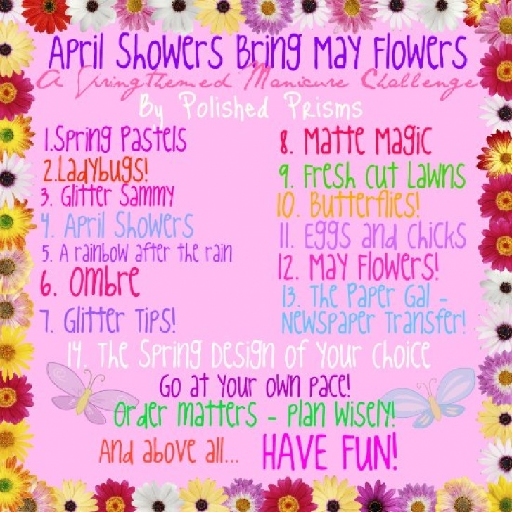 Most Iconic May Showers Bring June Flowers Poem Picture258