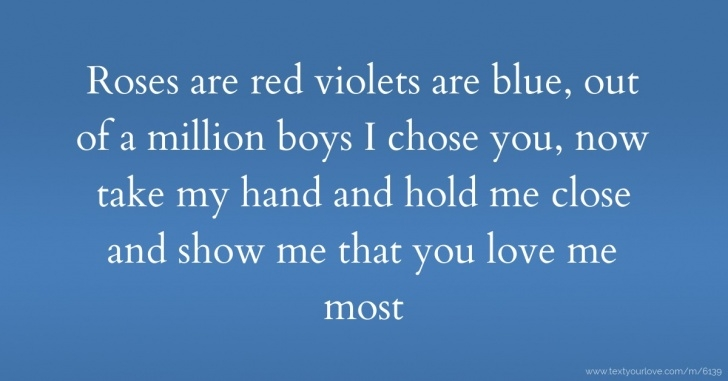 Most Iconic Rose Are Red Violets Are Blue I Love You Photo228