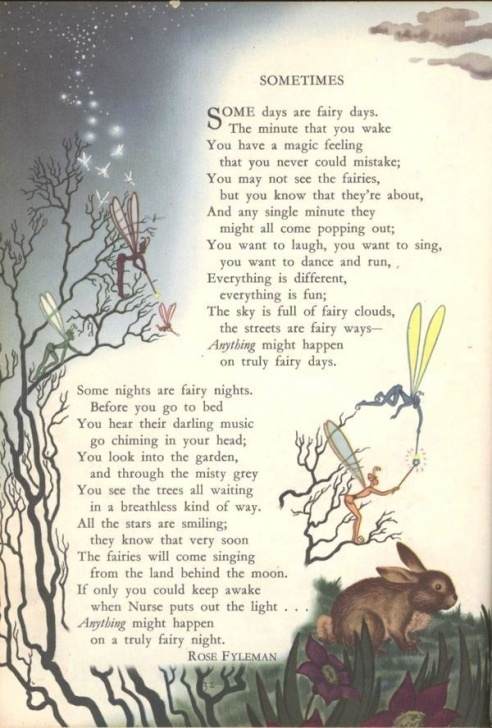 Most Iconic The Magic Garden Poem Pic800