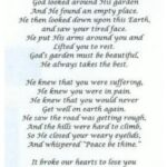 Most Popular Funeral Poems For Dad About Gardening Image790