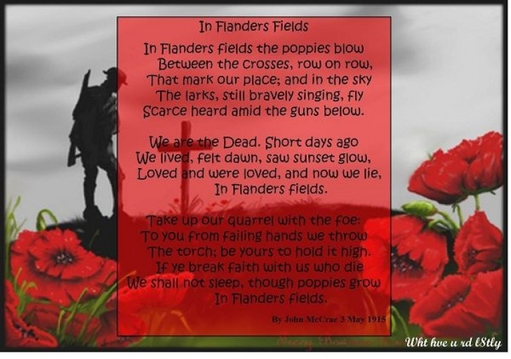 Most Popular In Poppies Fields Poem Picture313