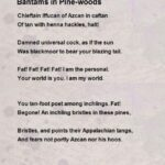 Most Popular Poems About Pine Trees Picture899