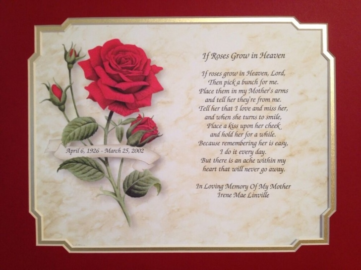 Most Popular Rose Poem For A Funeral Photo658
