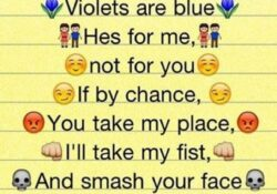 Most Popular Roses Are Red Violets Are Blue For Friends Pic058