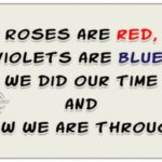 Most Popular Roses Are Red Violets Are Blue Photo744