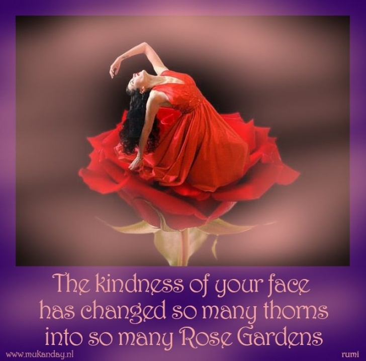 Most Popular Rumi Rose Garden Poem Pic444
