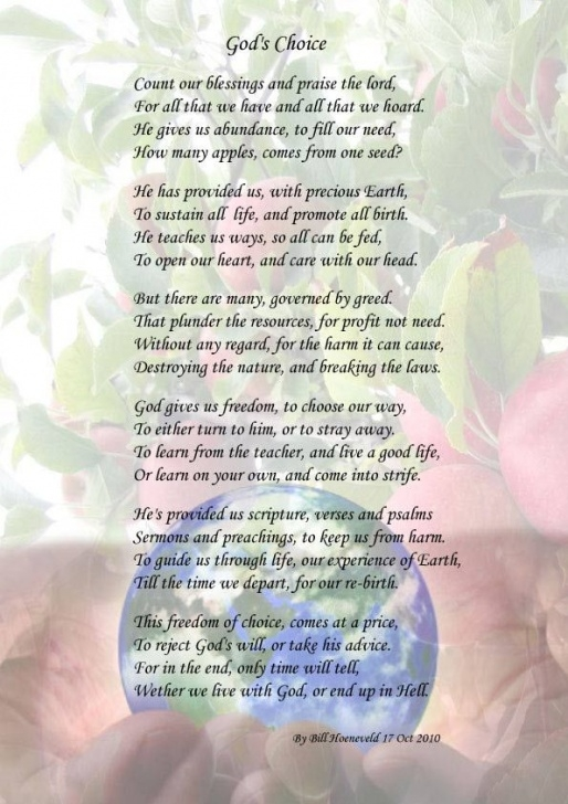 Most Popular Spiritual Garden Poem Image186