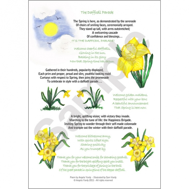 Most Popular To Daffodils Wordsworth Image524