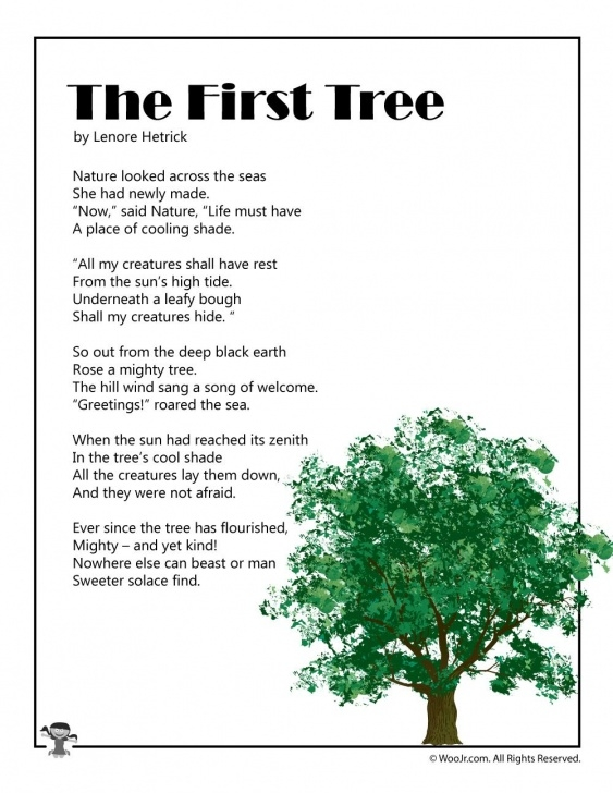 Most Popular Trees Poem For Kids Picture934