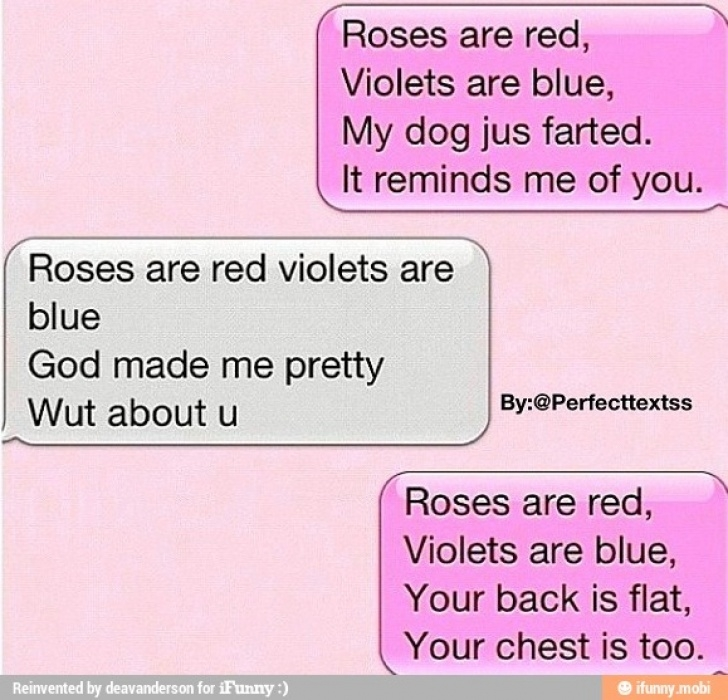 Most Popular Violets Are Purple Poem Image999