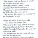 Motivational Famous Poems About Poppies Photo935