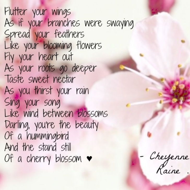 Motivational Flower Poems Rhyme Photo933