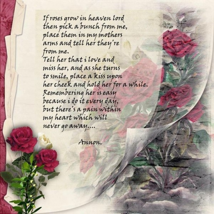Motivational Flowers From Heaven Poem Picture300