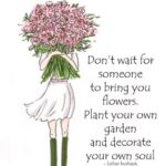 Motivational Friends Are Flowers In The Garden Of Life Poem Pic312