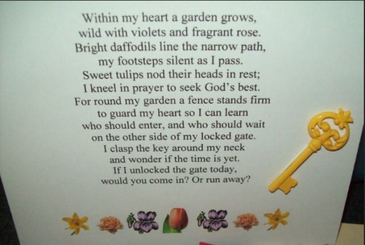 Motivational God'S Garden Poem Words Picture247