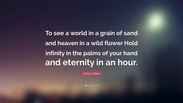 Motivational Infinity In The Palm Of Your Hand Poem Photo266