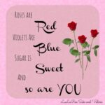 Motivational Roses Are Red Violets Are Blue Valentines Day Poems Image313