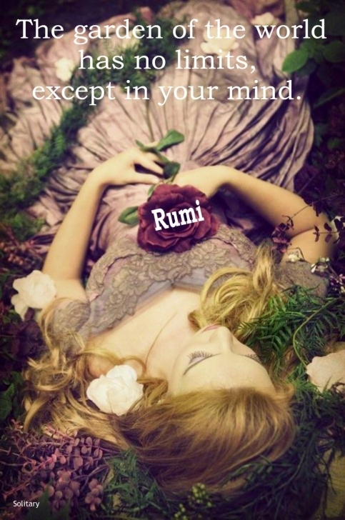 Motivational Rumi Garden Poem Image754