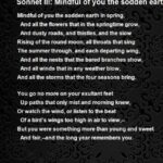 Motivational The Meanest Flower That Blows Poem Pics709