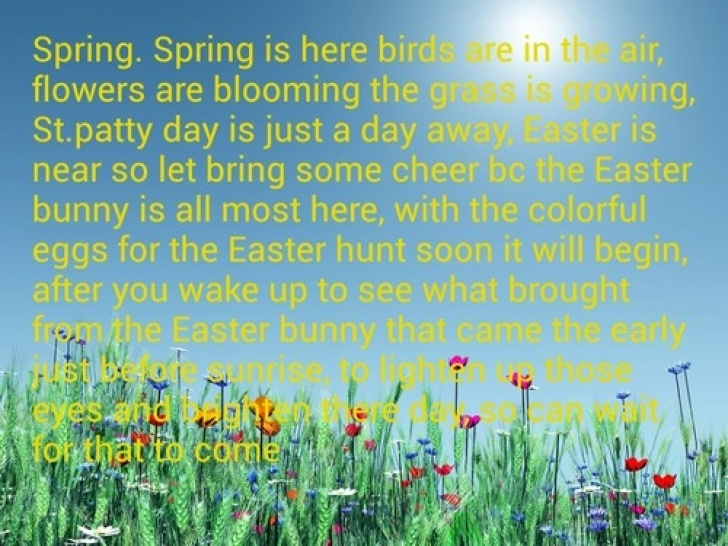 Outstanding Bio Poem About Flower In The Field Photo972