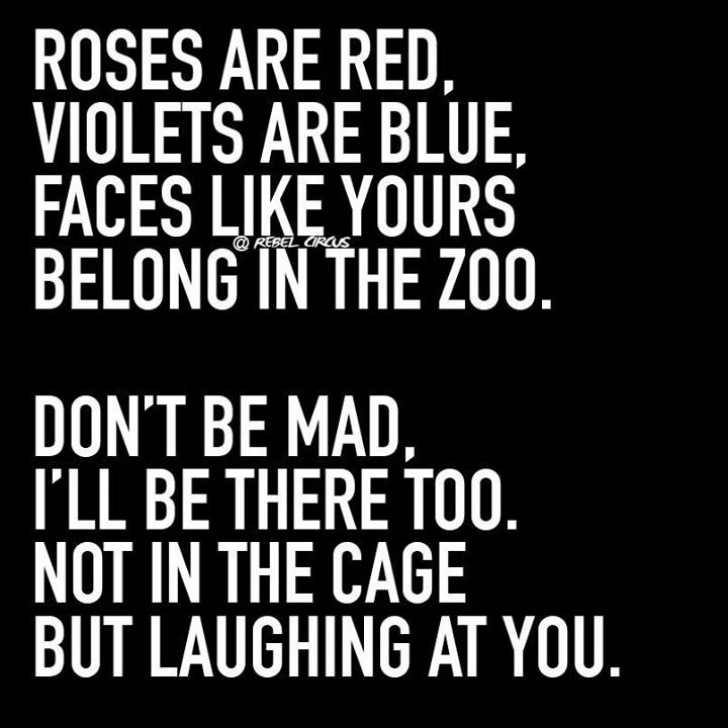 Outstanding Good Roses Are Red Violets Are Blue Image583