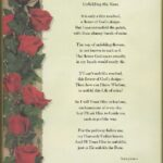 Outstanding Life Of A Rose Poem Picture846