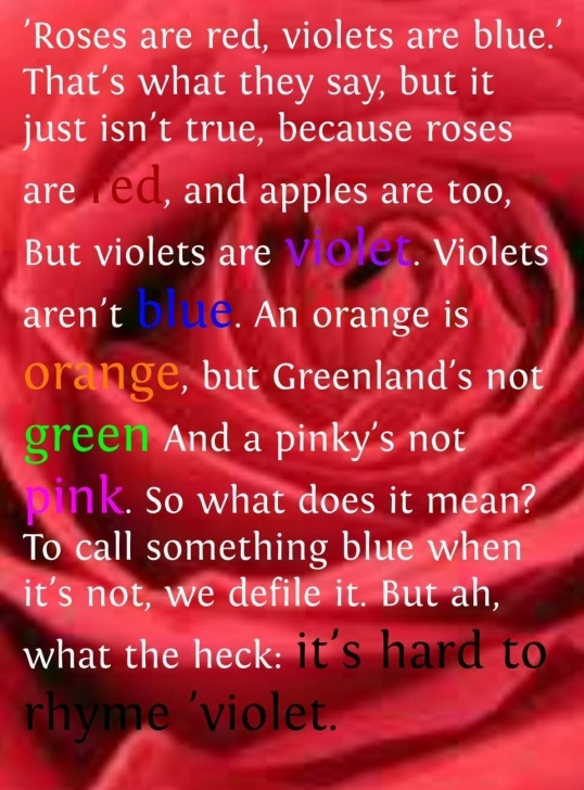 Outstanding Poems Roses Are Red Violets Are Blue Funny Pics525