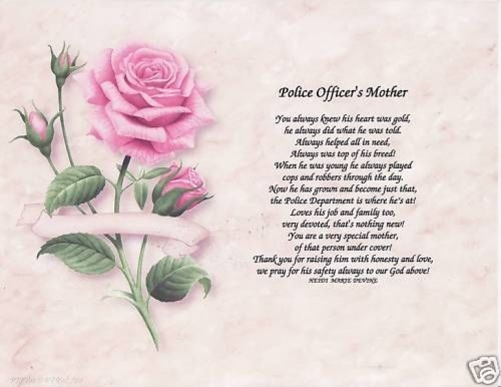 Popular A Rose For My Mother Poem Photo556
