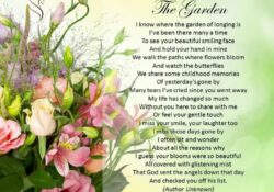 Popular Garden In Heaven Poem Photo226