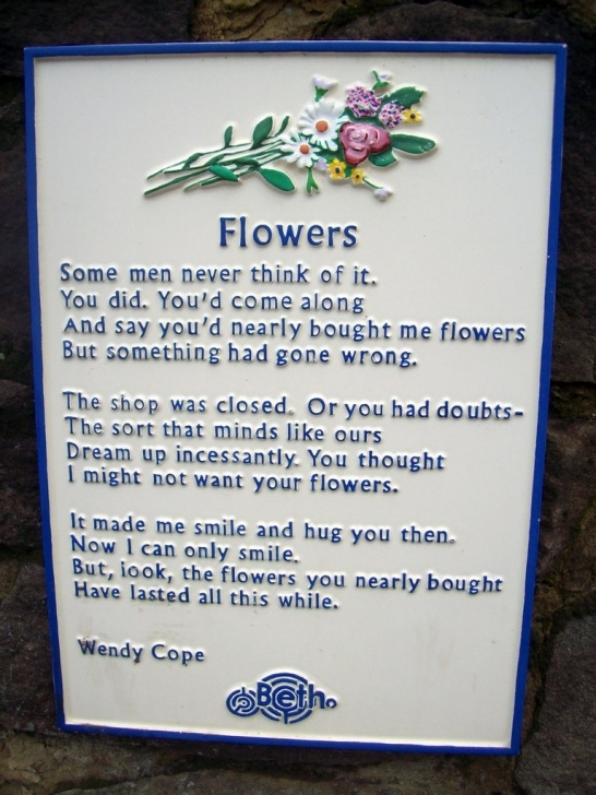 Popular If I Were A Flower Poem Pic935