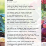 Popular Poems About Herbs In The Garden Image324