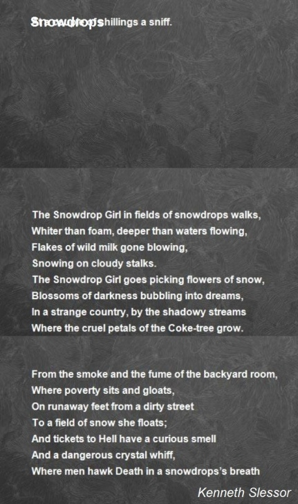 Popular The Snowdrop Poem Picture531