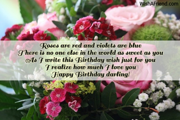 Roses Are Red Violets Are Blue Sweet Poems in Roses Are Red And Violets Are, Boyfriend Birthday Message Photo081