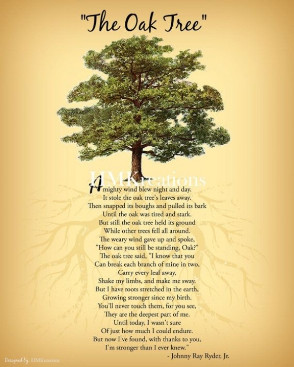 Stunning A Tree Is A Tree Poem Image851