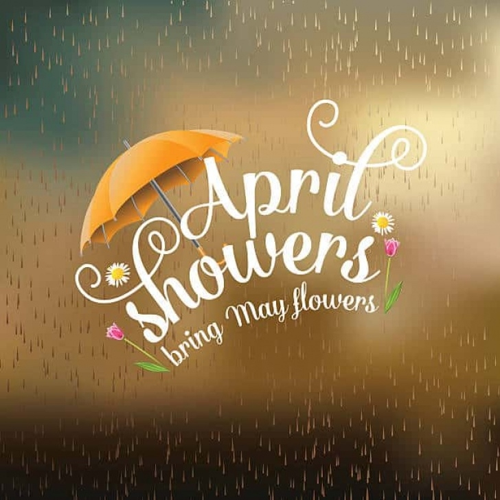 Stunning April Showers Bring May Flowers Poem Photo742