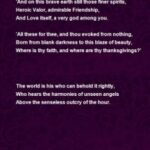 Stunning City Lilacs Poem Pic092