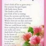 Stunning Funeral Poems About Flowers Photo833
