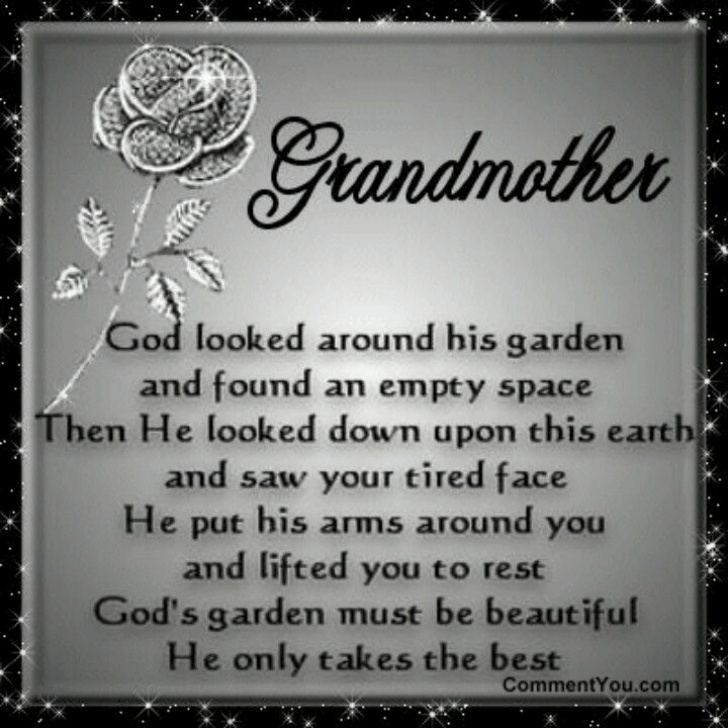 Stunning Grandma'S Garden Poem Photo837