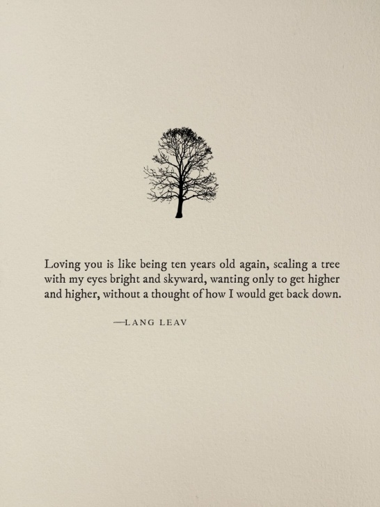Stunning I Love A Tree Poem Pic593
