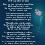 Stunning If Flowers Grow In Heaven Poem Picture112