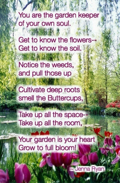 Stunning Poems About Gardens And God Picture611
