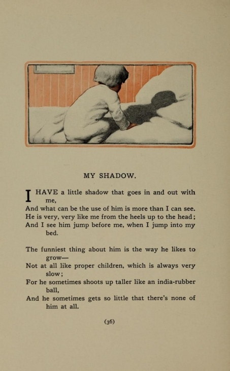 Stunning Robert Louis Stevenson Poems For Children Picture957