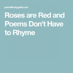Stunning Roses Are Red Apology Poem Image331
