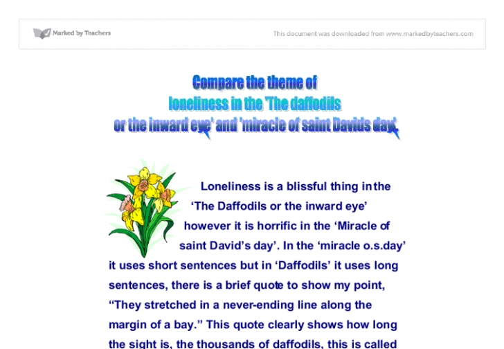 Stunning The Daffodils Full Poem Image283